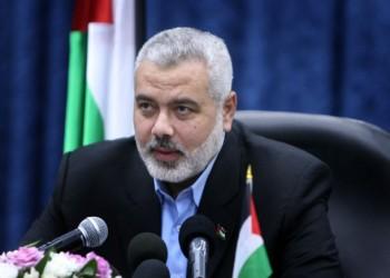 «هنية» يطلع «أبوالغيط» على مجريات اتفاق المصالحة الفلسطينية