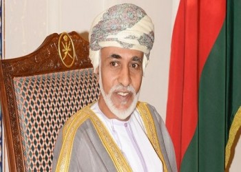 سلطان عمان يتلقى رسالة خطية من أمير قطر