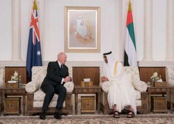 «بن زايد»: انطلاقة جديدة للعلاقات مع أستراليا