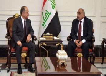 بارزاني يعلن دعمه لحكومة عبدالمهدي من بغداد