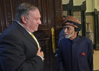 السلطان قابوس يبحث مع بومبيو التطورات الإقليمية والدولية