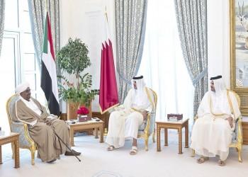 «تميم» و«البشير» يبحثان العلاقات الثنائية وقضايا المنطقة