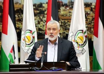 وفد حماس برئاسة هنية يلتقي رئيس المخابرات المصرية