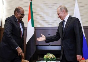 «البشير»: زيارتي لروسيا دفعة قوية للعلاقات بين البلدين