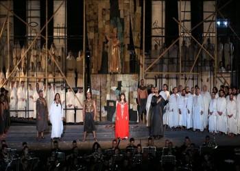 «أوبرا عايدة» تسافر بالجمهور التونسي للحب في الزمن الفرعوني