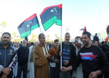 وقفة احتجاجية بطرابلس ضد قصف وحصار قوات «حفتر» لدرنة