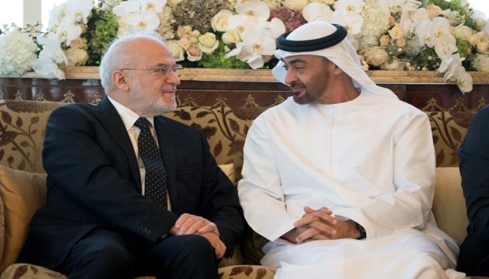 «بن زايد» و«الجعفري» يبحثان في أبوظبي التطورات العراقية