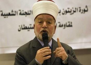 مفتي القدس يطالب العرب والمسلمين بزيارة «المسجد الأقصى»