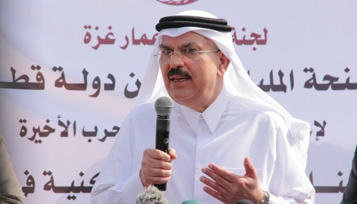 «العمادي» يصل إلى غزة لمتابعة مشاريع الإعمار القطرية