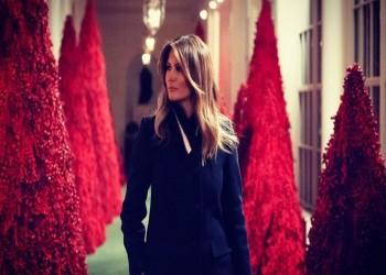 أشجار الميلاد الخاصة بميلانيا ترامب تتعرض للسرقة