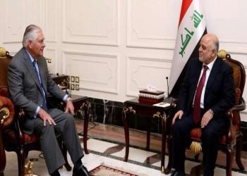 «العبادي» لـ«تيلرسون»: الحشد الشعبي يمثل أمل العراق والمنطقة