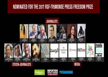«مراسلون بلا حدود» ترشح الإماراتي «أحمد منصور» لجائزة «حرية الصحافة»