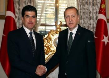 «أردوغان» يدرس طلبا قدمه رئيس وزراء كردستان لزيارة أنقرة