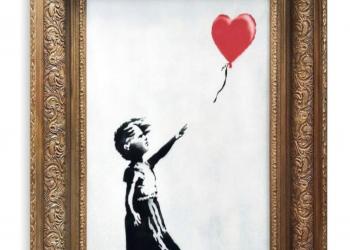 رسام عالمي يمزق لوحته قبل بيعها بـ1.3 ملايين استرليني