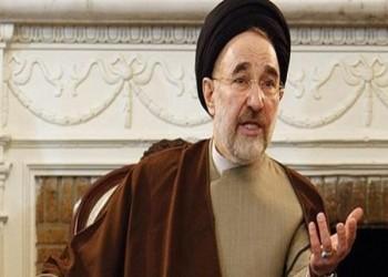 «خاتمي» يعلن تأييد «روحاني» لولاية رئاسية ثانية