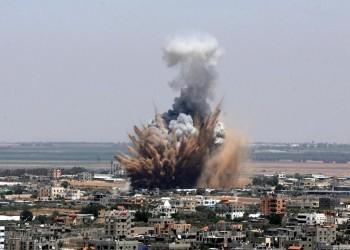 غارات إسرائيلية على مناطق متفرقة في قطاع غزة