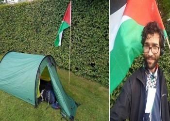 من السويد إلى فلسطين.. يهودي يمشي للتعريف بالقضية الفلسطينية