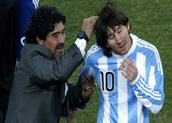 «ميسي» يحرج «مارادونا» بسبب حفل زواجه