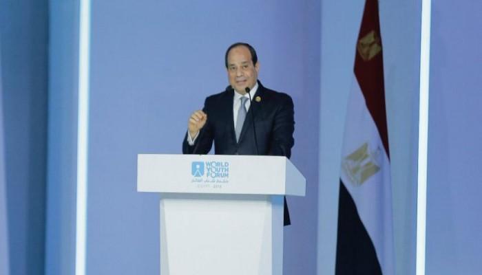 السيسي يؤكد تمسك بلاده باستقرار دول خليجية بينها قطر