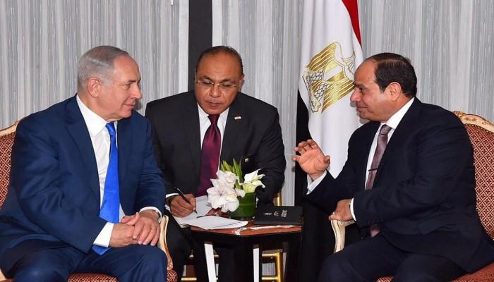قاعدة جوية مصرية في سيناء بإشراف إسرائيلي