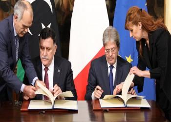 قاعدة إيطالية بليبيا للسيطرة على تدفقات الهجرة غير الشرعية