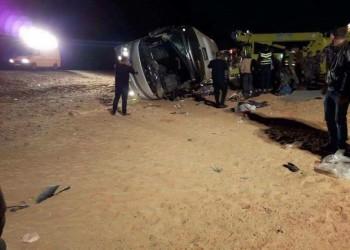 ارتفاع وفيات حادث حافلة المعتمرين الفلسطينيين في الأردن إلى 16
