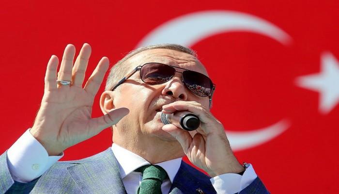 """""""أردوغان"""": السلاح الأمريكي يستخدم ضد الأتراك عبر المليشيات الكردية"""