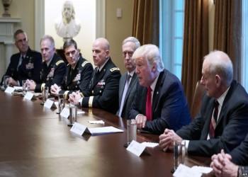 بعد لقاء قادة الجيش.. «ترامب»: ربما هذا «هدوء يسبق العاصفة»
