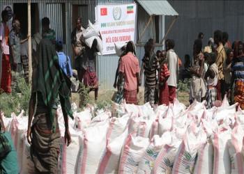 هيئة الإغاثة التركية تقدم مساعدات لـ40 ألف متضرر من الجفاف بإثيوبيا