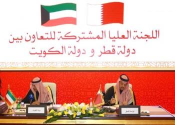 قطر والكويت توقعان 6 اتفاقيات ومذكرات تفاهم