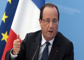 «أولاند» يدعو إيران والسعودية إلى إيجاد حل للفراغ الرئاسي في لبنان