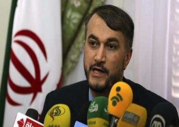«عبداللهيان» يطالب السعودية بوقف زيادة التوترات في المنطقة