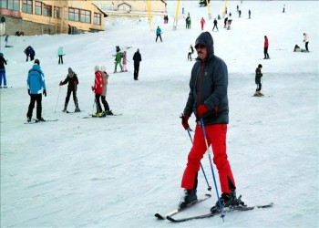 السياح العرب يسدون فراغ الروس في بورصا مقصد السياحة الشتوية بتركيا
