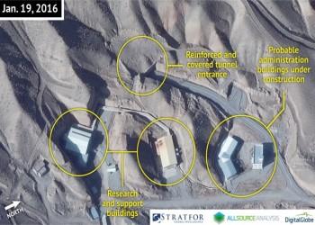 «ستراتفور»: صور الأقمار الصناعية تظهر الاستراتيجية النووية المزدوجة لإيران