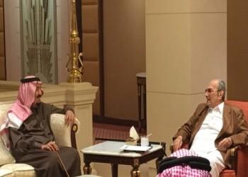الملك «سلمان» يلتقي أخيه الأمير «طلال» في زيارة «وفاء»