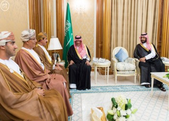 «بن نايف» و«بن سلمان» يستقبلان وزير المكتب السلطاني في عُمان