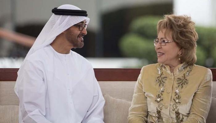 «محمد بن زايد» يبحث مع رئيسة البرلمان الروسي العلاقات الثانية