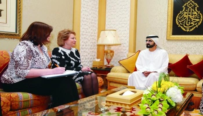 رئيسة مجلس الاتحاد الروسي تقترح إنشاء وزارة للسعادة على غرار الإمارات