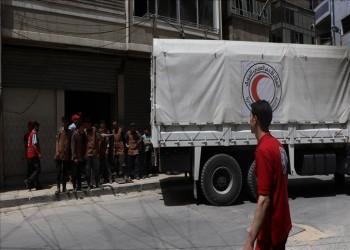 القاهرة: مررنا قافلة مساعدات إنسانية للسوريين المحاصرين في دوما