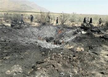 تحطم مقاتلة إيرانية من طراز سوخوي 24 ونجاة طياريها بمحافظة فارس