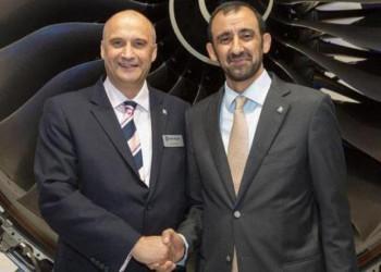 الإمارات: «مبادلة» و«رولز رويس» يصنعان أجزاء محركات الطائرات بأبوظبي