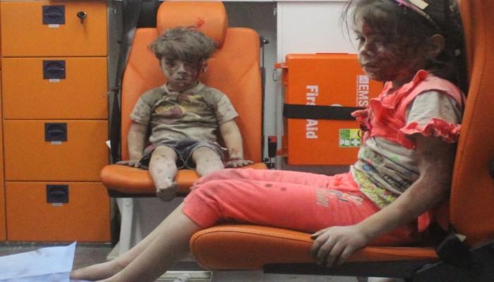 روسيا تدعي عدم مسؤوليتها عن قصف حلب الذي أصاب الطفل «عمران»