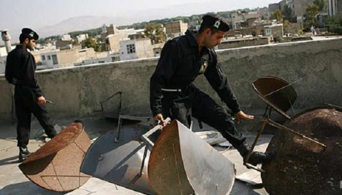 إيران تبدأ حملة مصادرة الأطباق اللاقطة شمال الأحواز