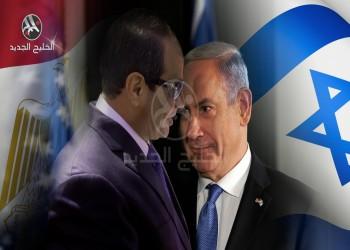 سر قلق (إسرائيل) بشأن نظام السيسي