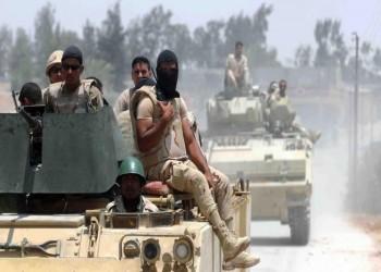 مقتل 4 من الجيش المصري و6 مسلحين في سيناء