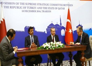 قطر وتركيا توقعان مذكرات تفاهم في عدة مجالات بحضور «أردوغان» و«تميم»