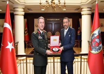 لقاء ثنائي بين نائب وزير الدفاع السعودي ورئيس الأركان التركية بأنقرة