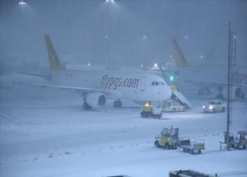 الخطوط السعودية تلغي جميع الرحلات من وإلى إسطنبول بسبب الثلوج الكثيفة