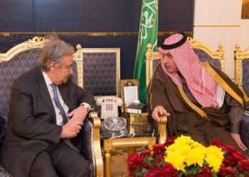 «غوتيريس» يصل إلى الرياض في مستهل جولة شرق أوسطية تشمل 5 بلدان عربية
