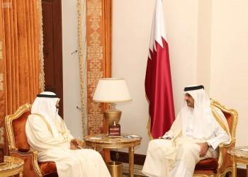 أمير قطر ورئيس وزراء البحرين يبحثان تعزيز العمل الخليجي